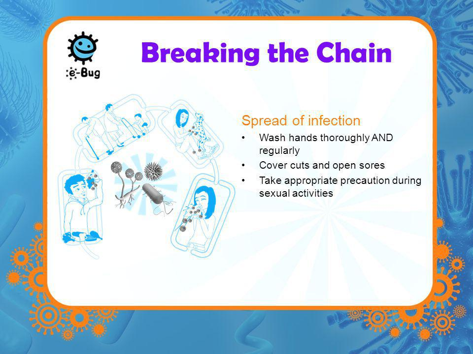 Breaking the Chain Spread of infection