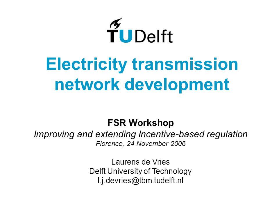 Transmission investment