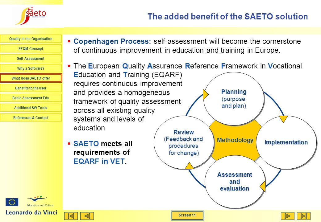 The added benefit of the SAETO solution