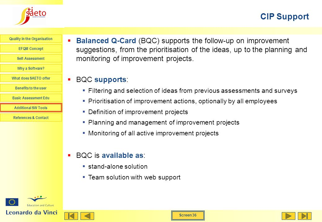 CIP Support