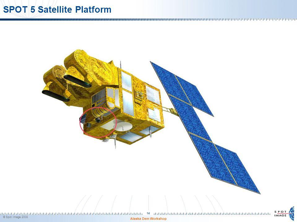 SPOT 5 Satellite Platform