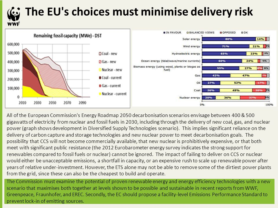 The EU s choices must minimise delivery risk
