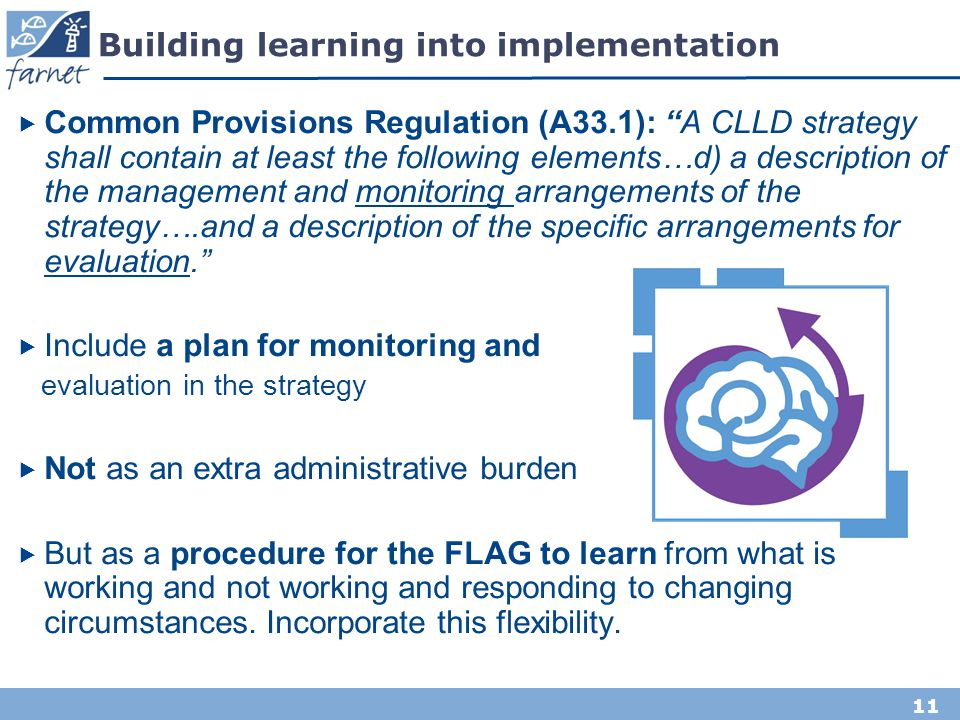 Building learning into implementation
