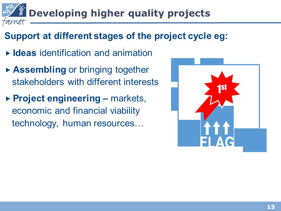 Developing higher quality projects