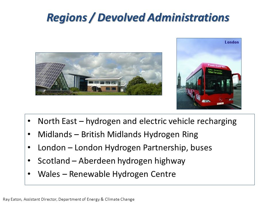 Regions / Devolved Administrations