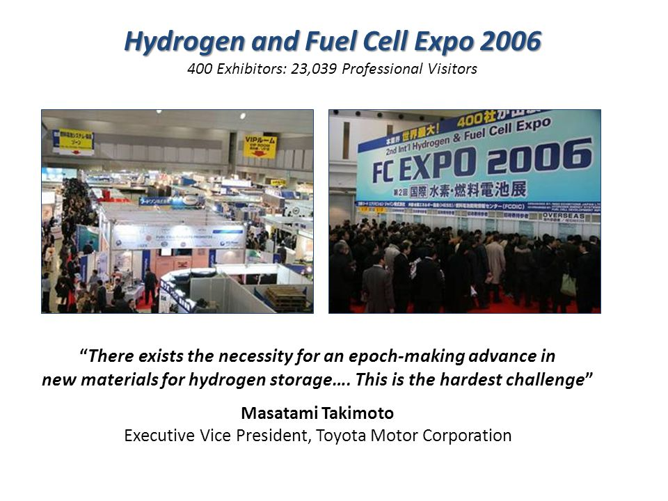 Hydrogen and Fuel Cell Expo 2006