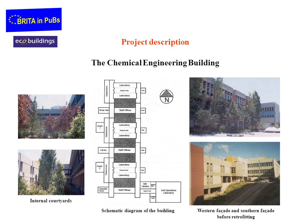 Project description The Chemical Engineering Building