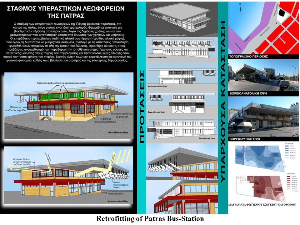 Retrofitting of Patras Bus-Station