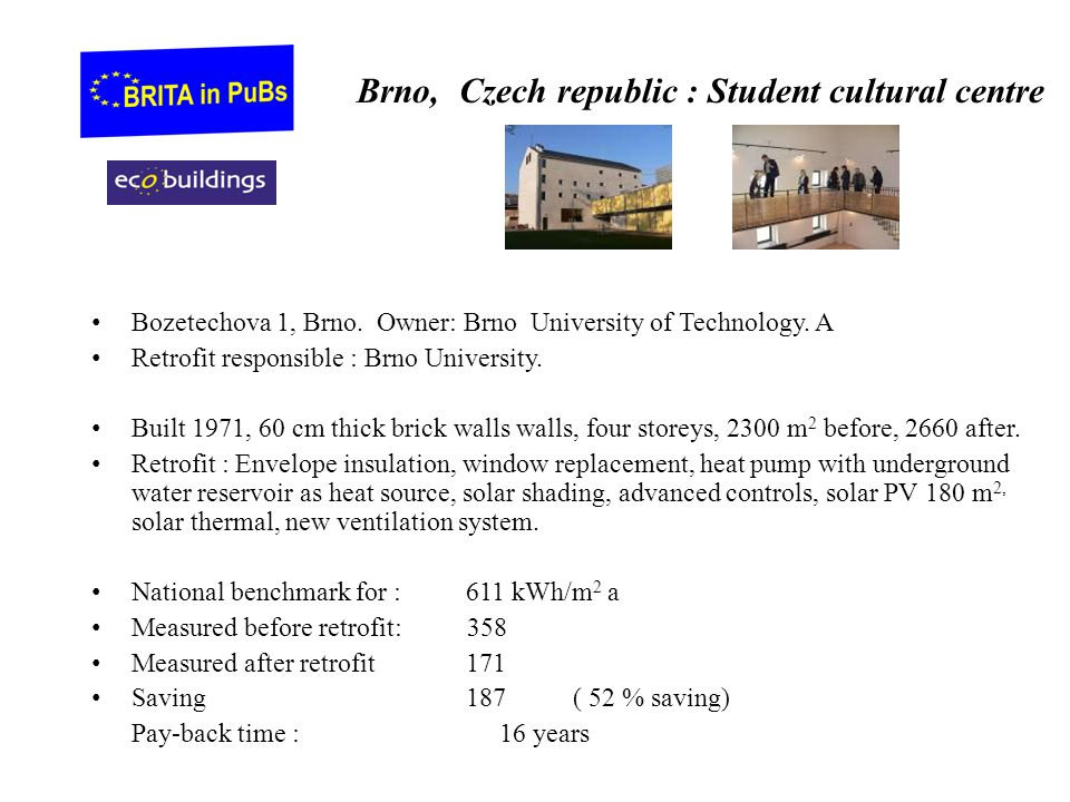 Brno, Czech republic : Student cultural centre