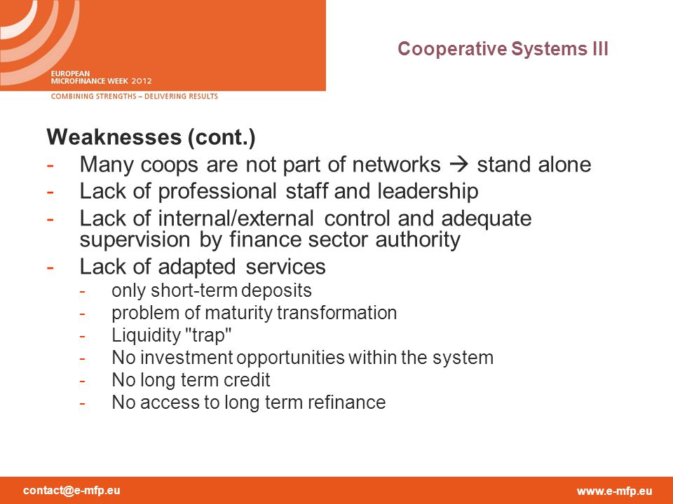 Cooperative Systems III