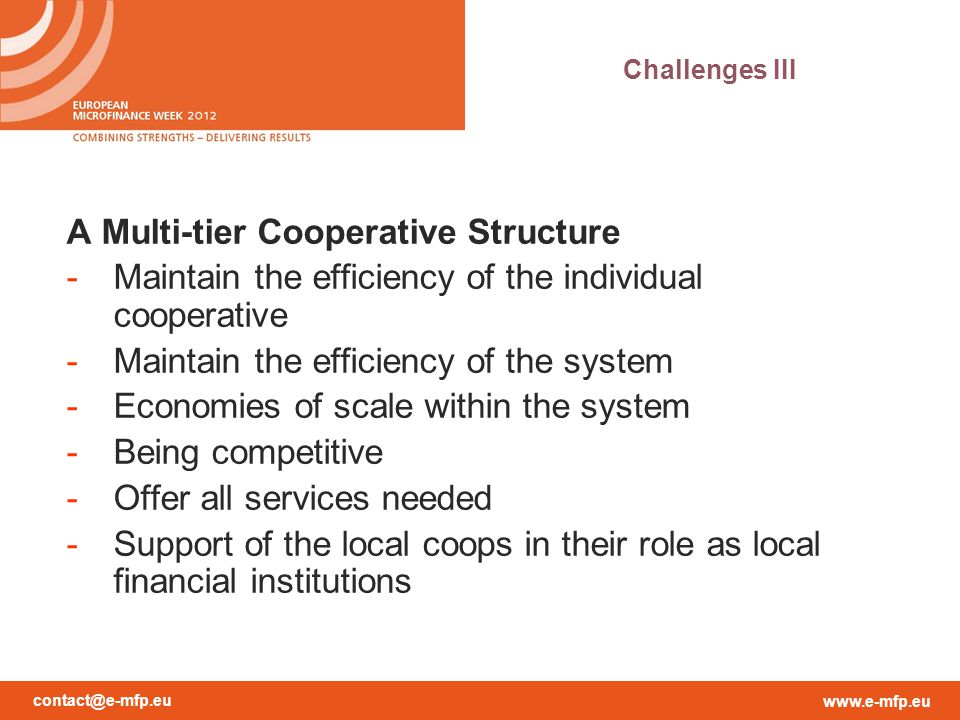 A Multi-tier Cooperative Structure
