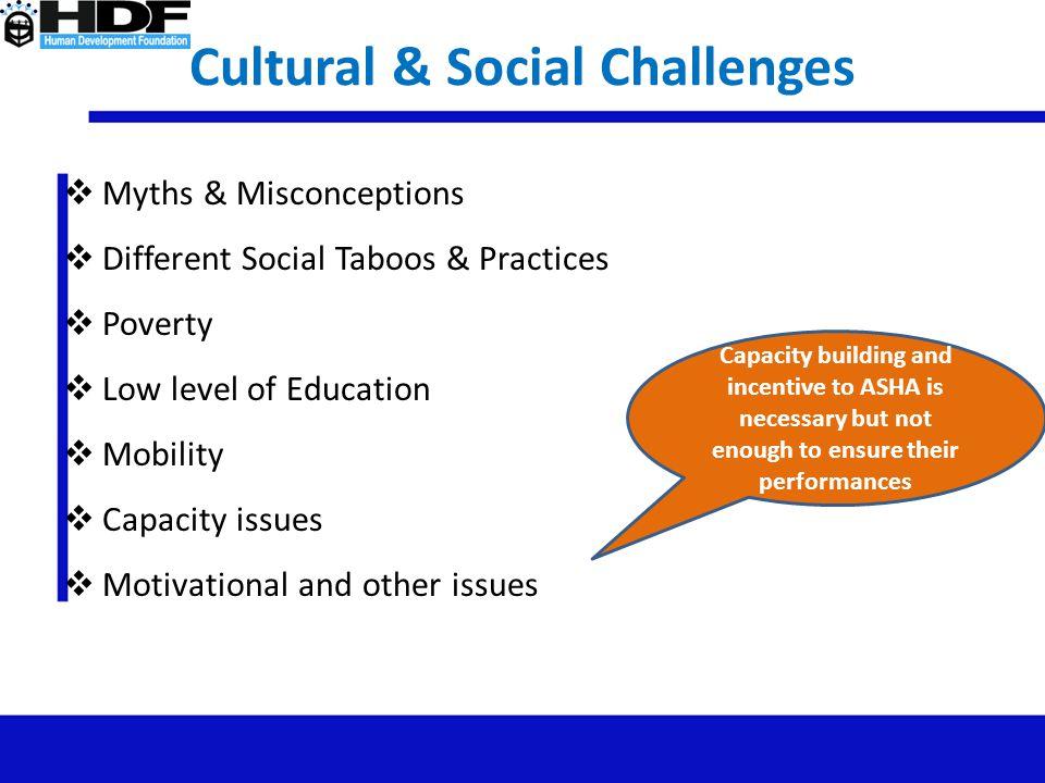 Cultural & Social Challenges