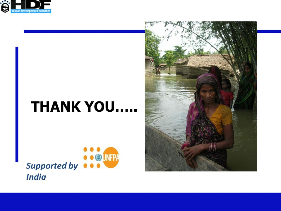 THANK YOU….. Supported by India