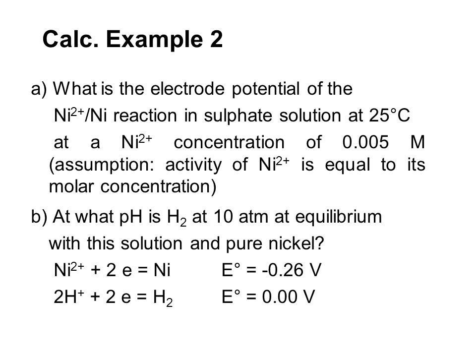 Calc. Example 2