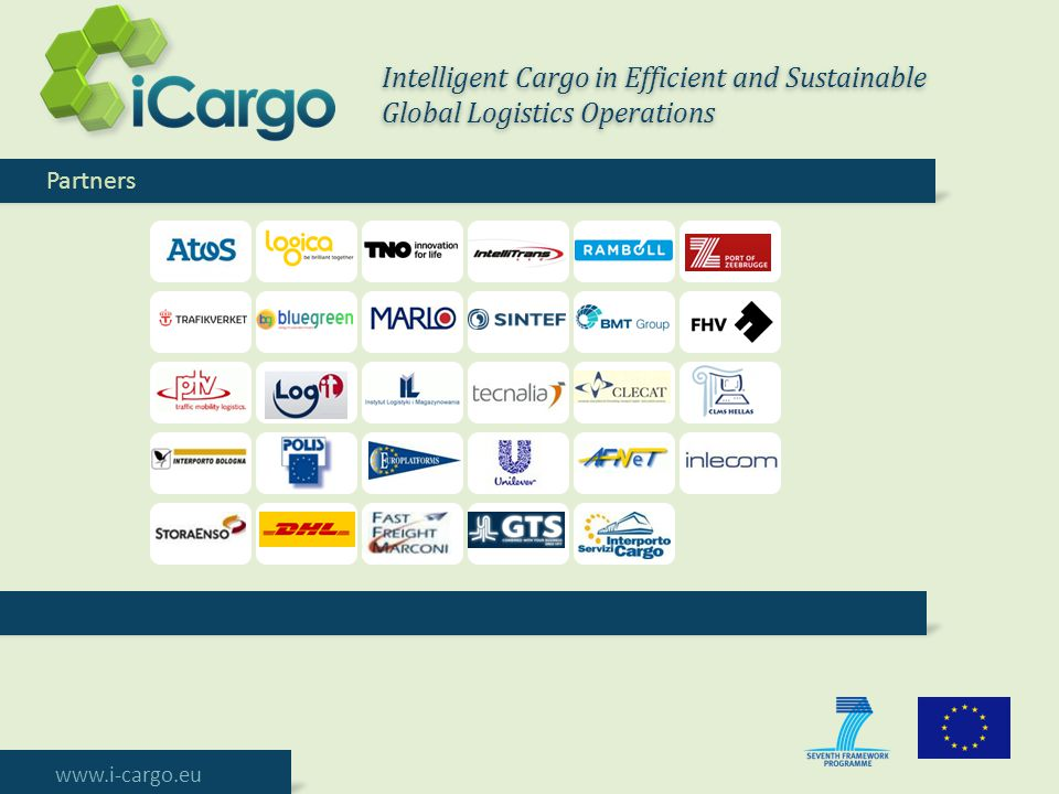 Intelligent Cargo in Efficient and Sustainable Global Logistics Operations
