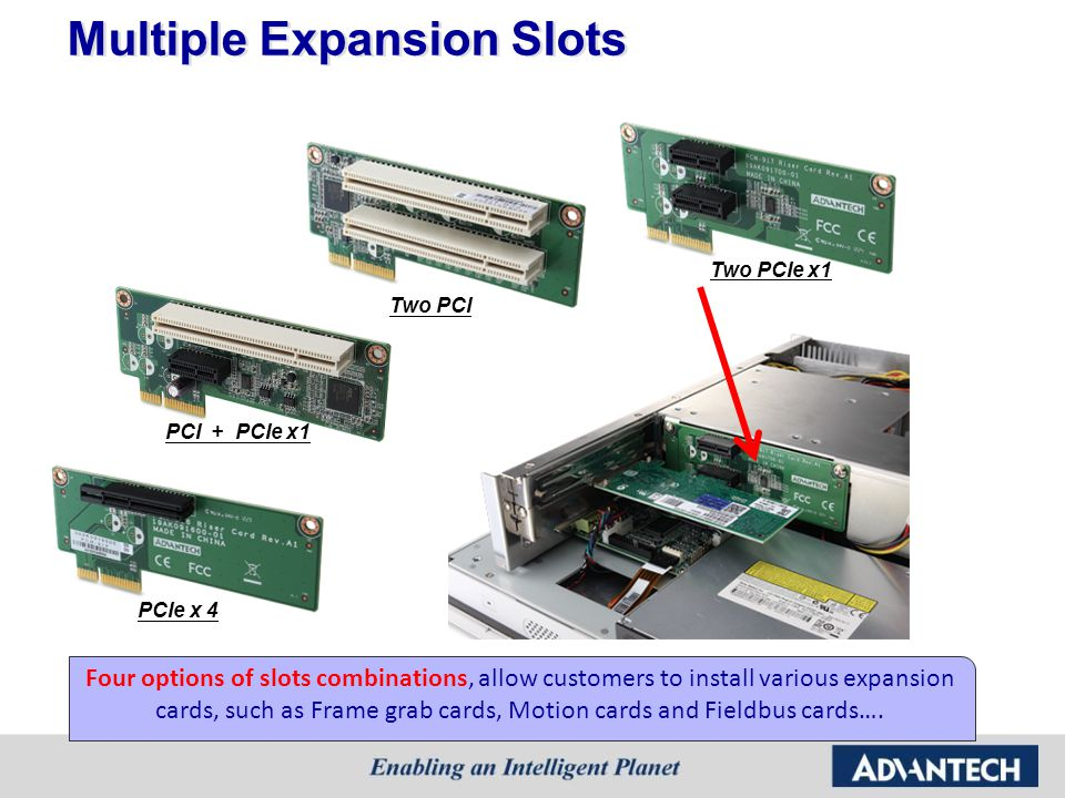 Multiple Expansion Slots