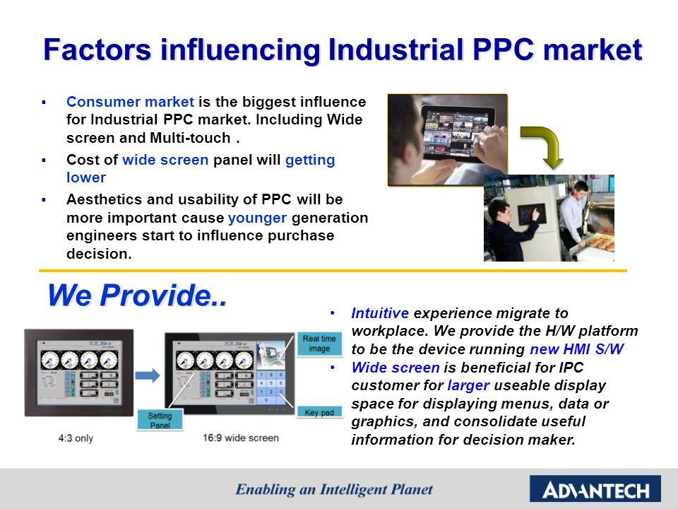 Factors influencing Industrial PPC market
