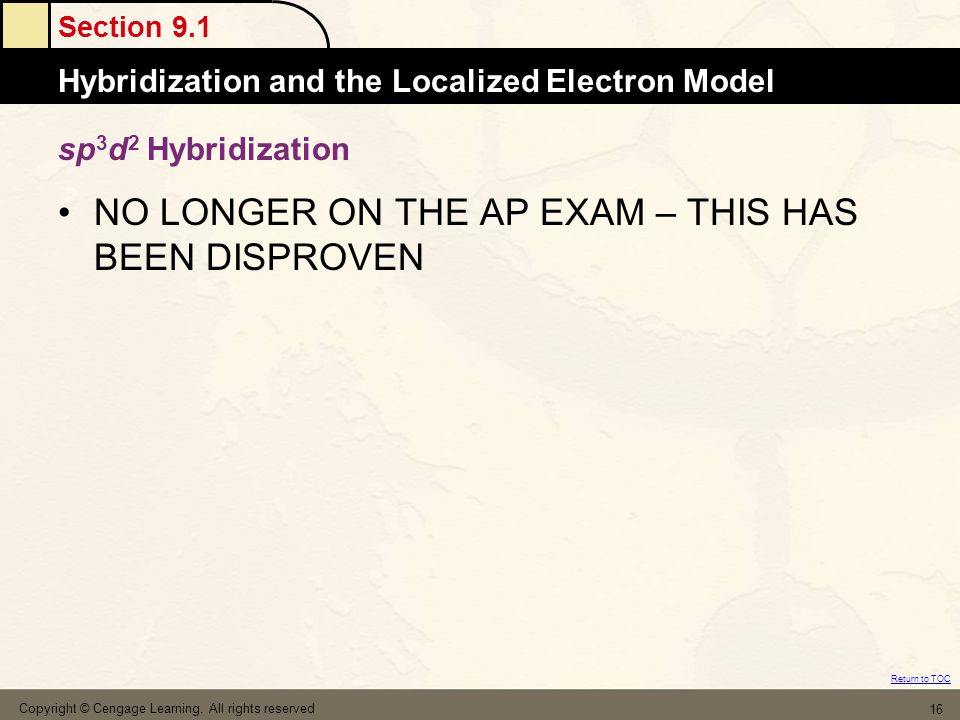 NO LONGER ON THE AP EXAM – THIS HAS BEEN DISPROVEN