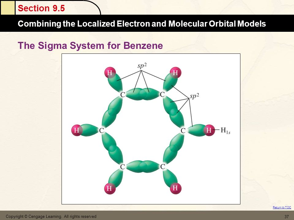 The Sigma System for Benzene
