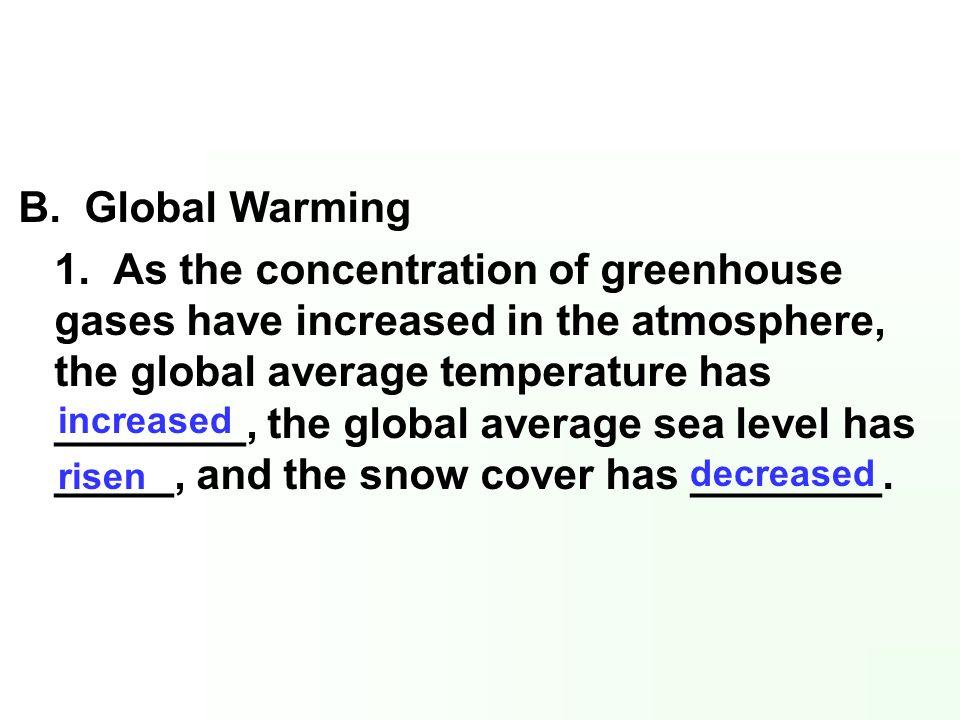B. Global Warming