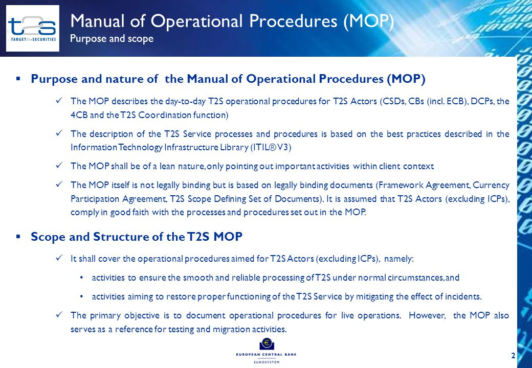 Operations Managers Group (OMG) Work organisation