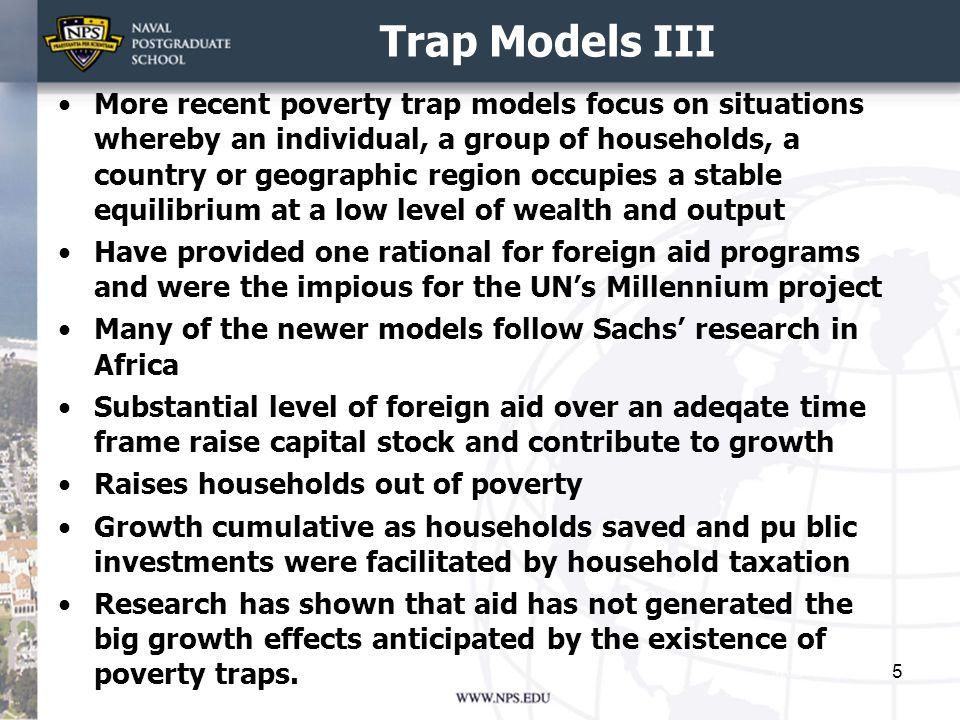 Trap Models III