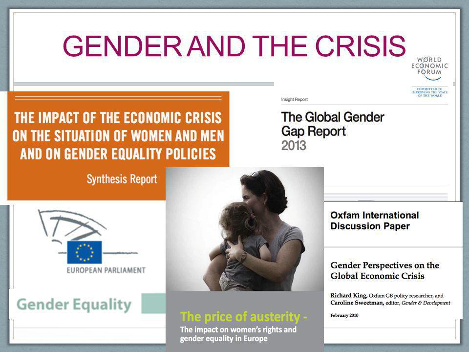 Gender and the crisis