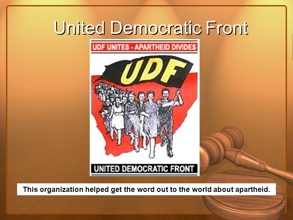 United Democratic Front