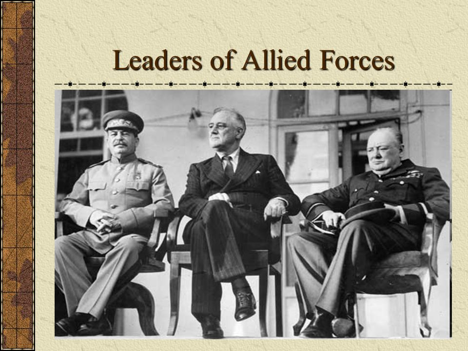Leaders of Allied Forces