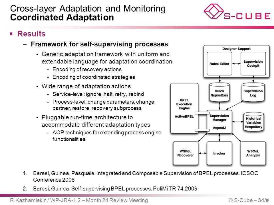 Cross-layer Adaptation and Monitoring Coordinated Adaptation