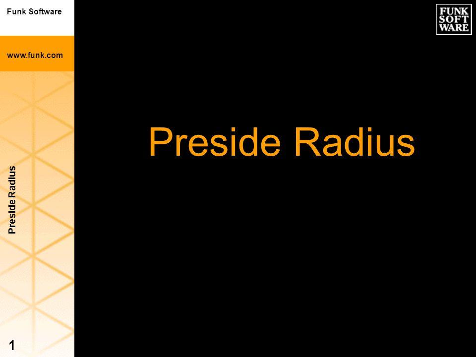 Preside Radius Preside Radius