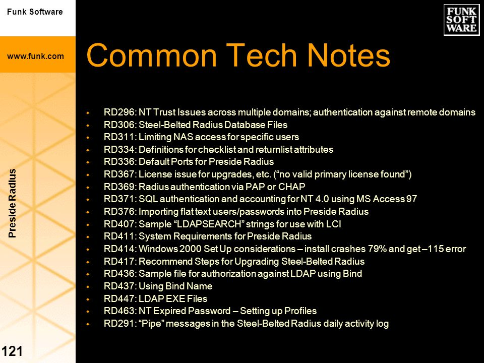Common Tech Notes RD296: NT Trust Issues across multiple domains; authentication against remote domains.