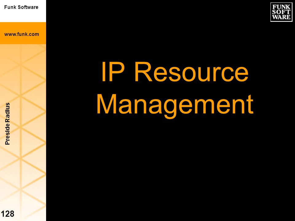 IP Resource Management