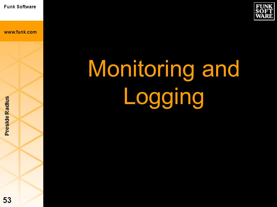Monitoring and Logging