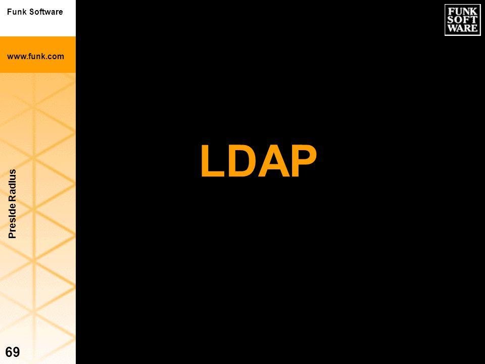 LDAP Preside Radius