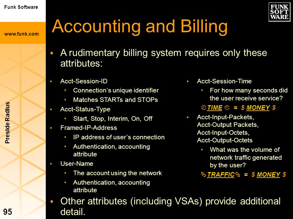 Accounting and Billing