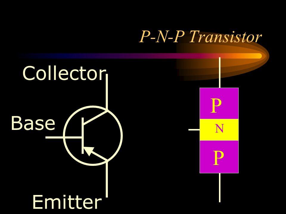 P-N-P Transistor Collector P Base N P Emitter
