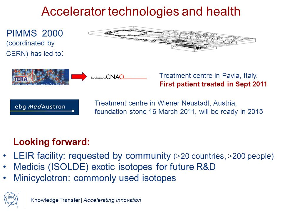 Accelerator technologies and health
