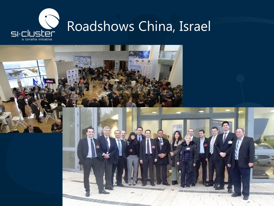 Roadshows China, Israel