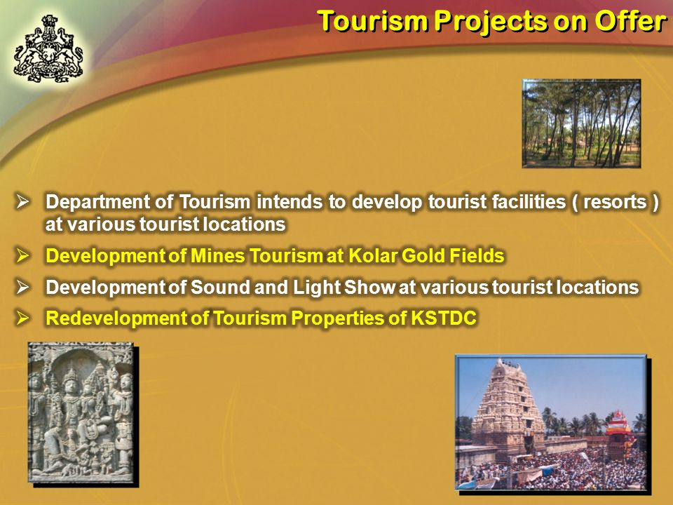 Tourism Projects on Offer