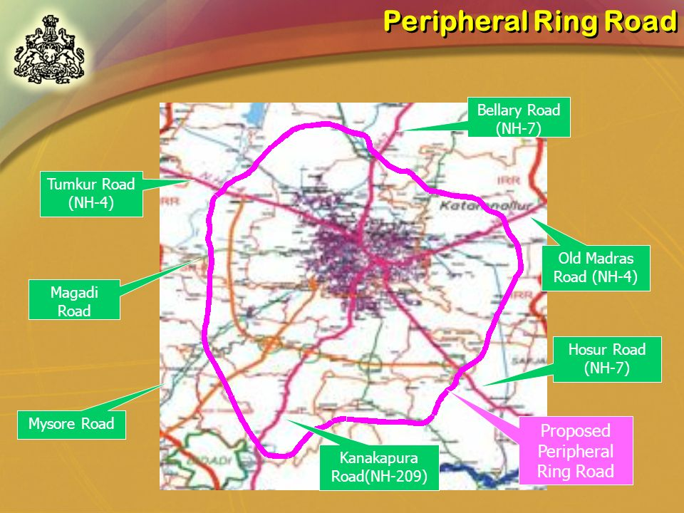 Proposed Peripheral Ring Road