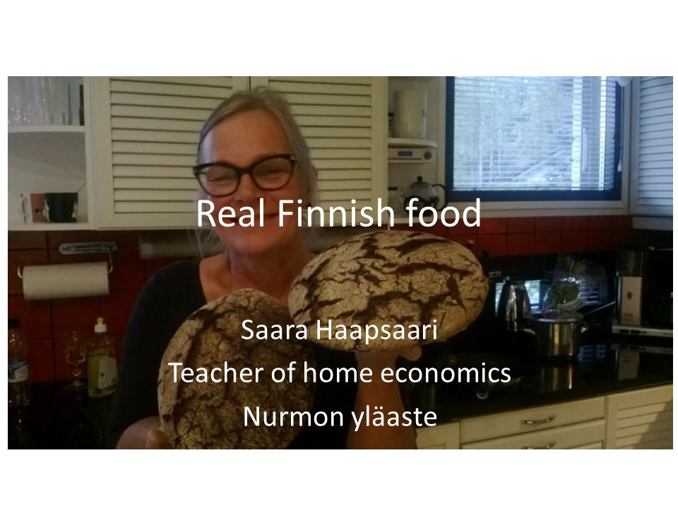 Saara Haapsaari Teacher of home economics Nurmon yläaste