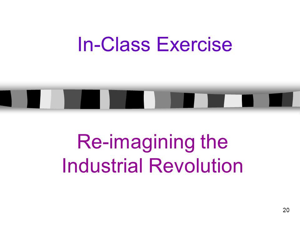 Re-imagining the Industrial Revolution