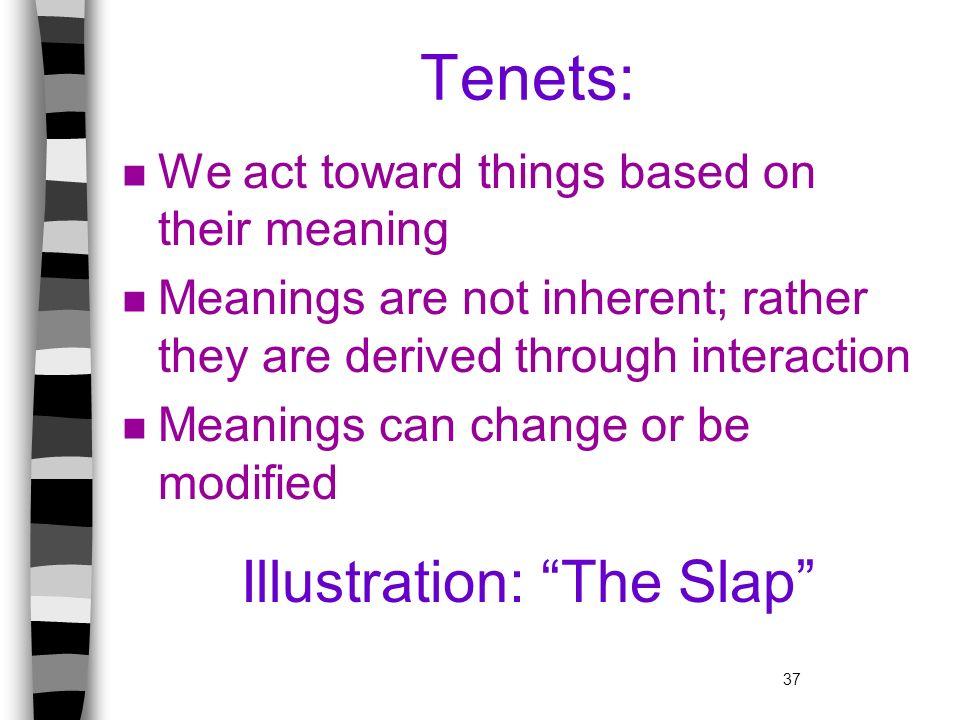 Illustration: The Slap
