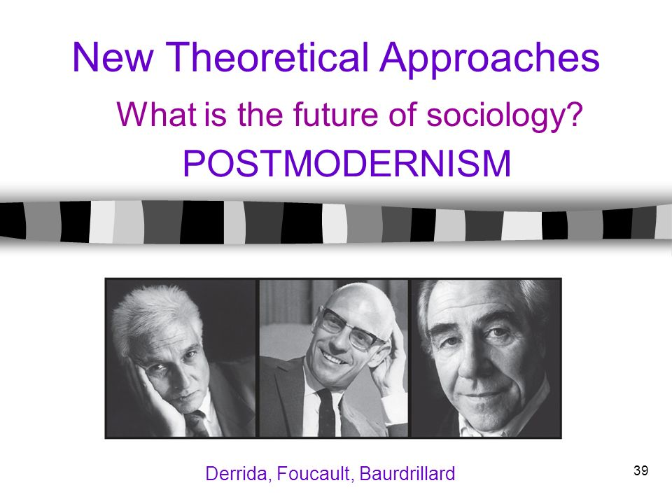 New Theoretical Approaches