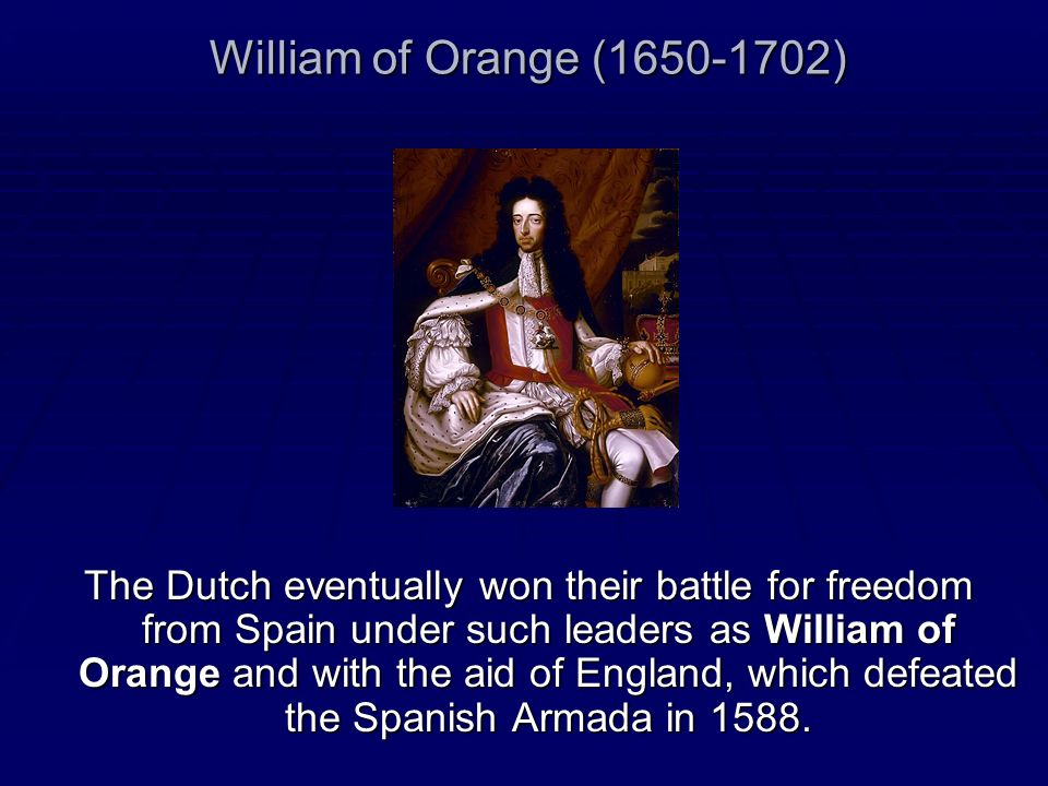 William of Orange (1650-1702)