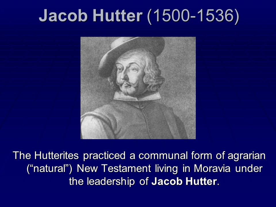 Jacob Hutter (1500-1536)