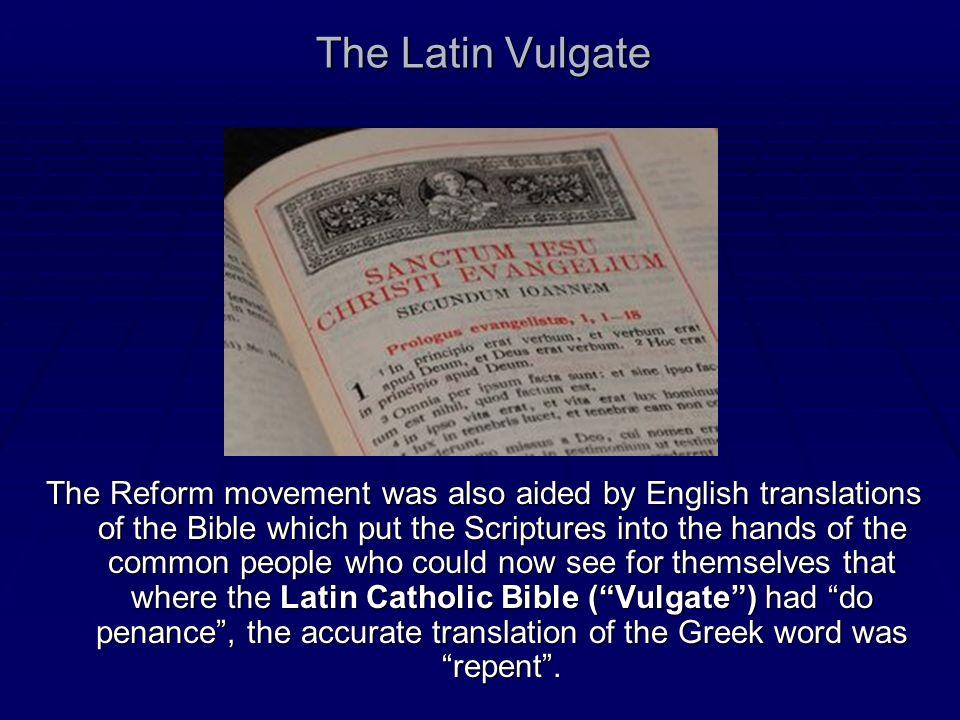 The Latin Vulgate
