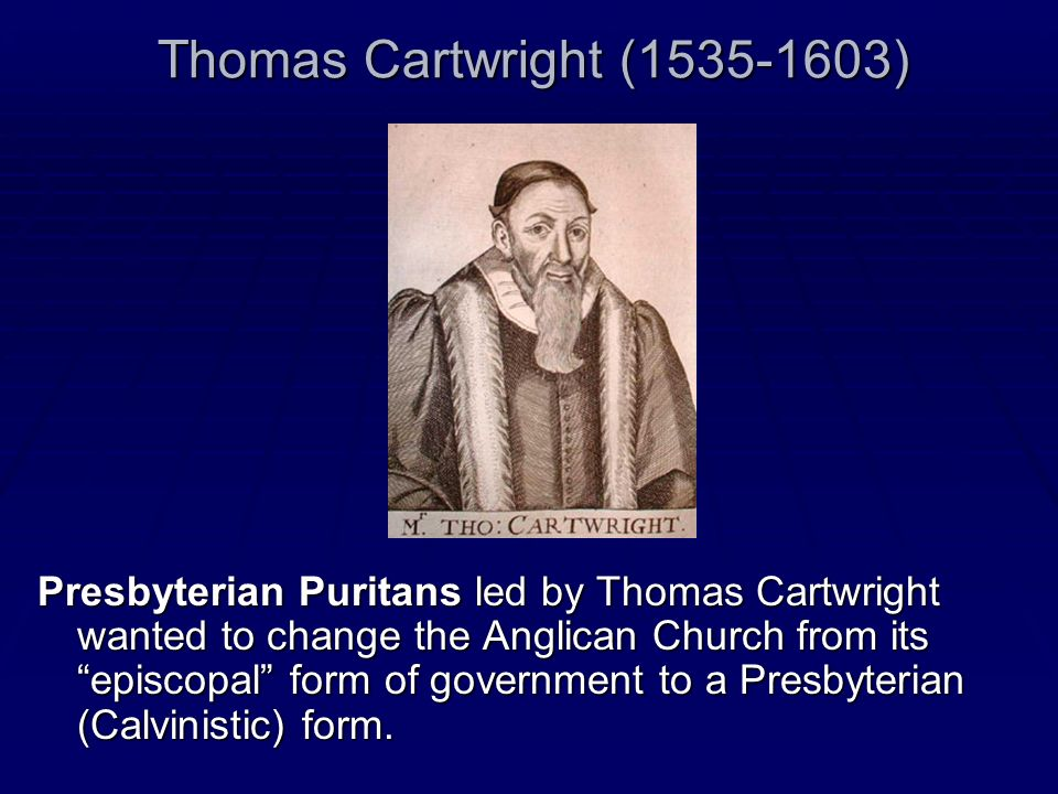 Thomas Cartwright (1535-1603)