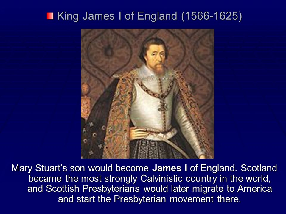 King James I of England (1566-1625)